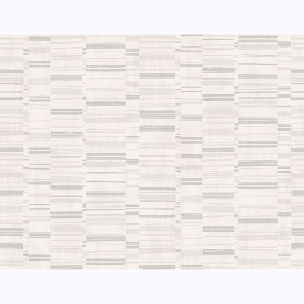 Picture of Fresnaye Light Grey Linen Stripe Wallpaper