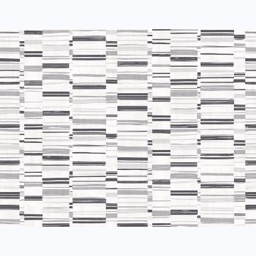 Picture of Fresnaye Black Linen Stripe Wallpaper