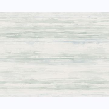 Picture of Sandhurst Seafoam Abstract Stripe Wallpaper