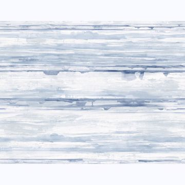 Picture of Sandhurst Blue Abstract Stripe Wallpaper