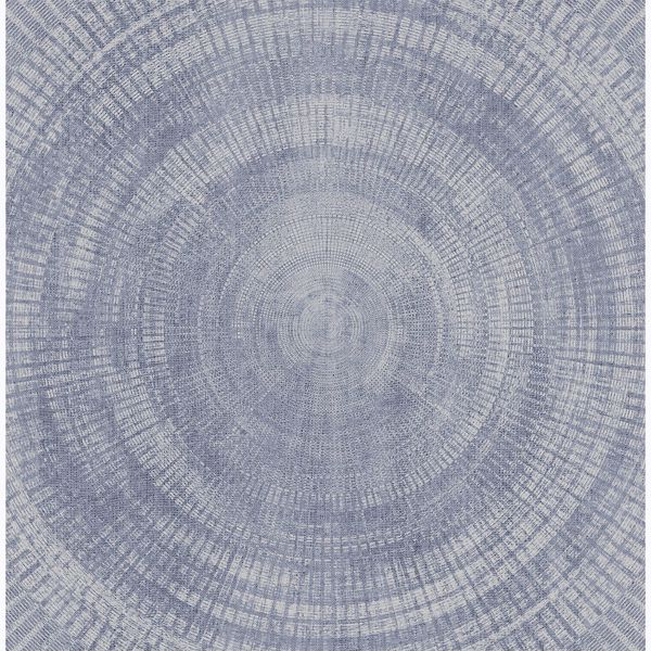 Picture of Lalit Light Blue Medallion Wallpaper