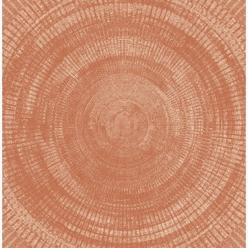 Picture of Lalit Burnt Sienna Medallion Wallpaper