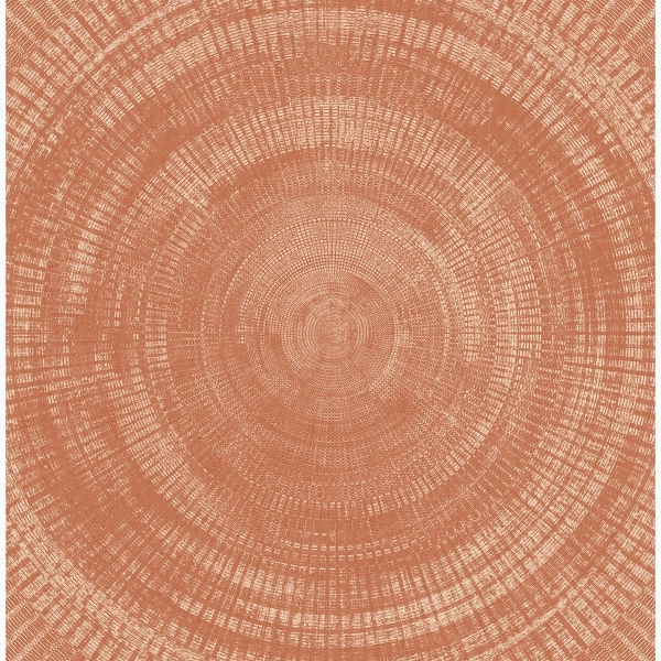 Picture of Lalit Burnt Sienna Medallion Wallpaper