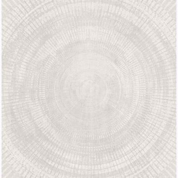 Picture of Lalit Off-White Medallion Wallpaper