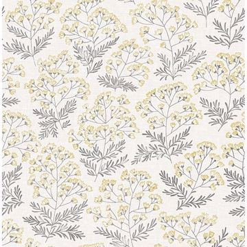 Picture of Yellow Wethersfield Peel and Stick Wallpaper