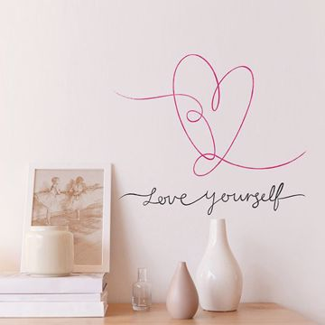 Picture of Love Yourself Wall Art Kit