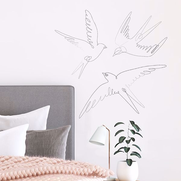 Picture of Swallows Wall Art Kit