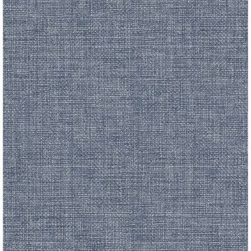 Picture of Cobalt Warp and Weft Self Adhesive Wallpaper