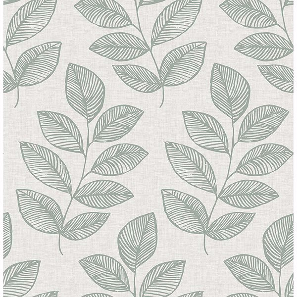 Picture of Fern Green Sprig Self Adhesive Wallpaper
