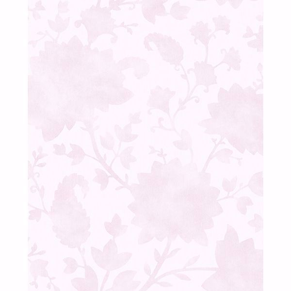 Picture of Avens Light Pink Floral Wallpaper