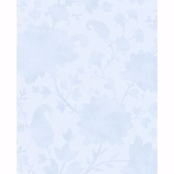 Picture of Avens Light Blue Floral Wallpaper