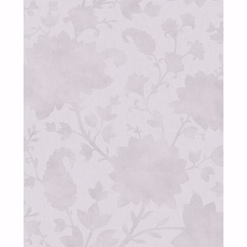 Picture of Avens Taupe Floral Wallpaper