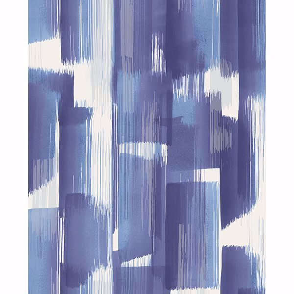 Picture of Vilgot Indigo Abstract Wallpaper
