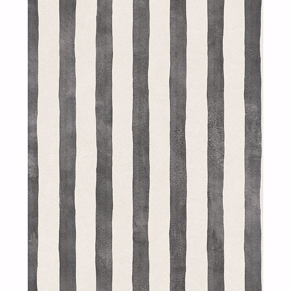 Picture of Ronja Charcoal Stripe Wallpaper
