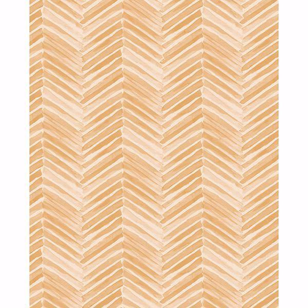 Picture of Tilde Wheat Chevron Wallpaper