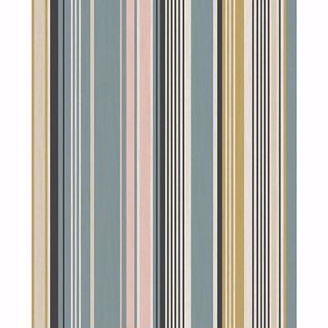 Picture of Svea Multicolor Stripe Wallpaper
