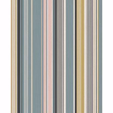 Picture of Svea Multicolor Stripe Wallpaper