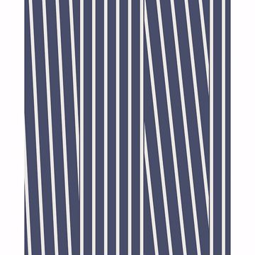 Picture of Maryam Navy Modern Stripe Wallpaper