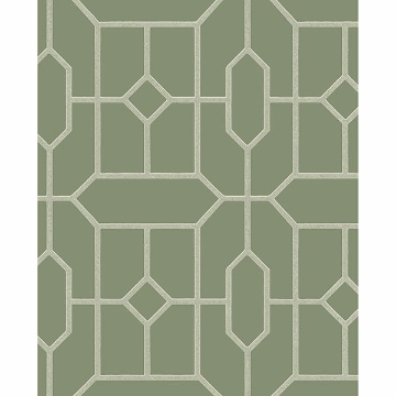 Picture of Johan Green Trellis Wallpaper