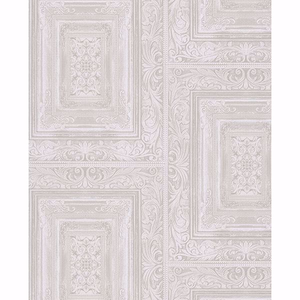 Picture of Olsson Off-White Wood Panel Wallpaper