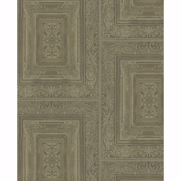 Picture of Olsson Moss Wood Panel Wallpaper
