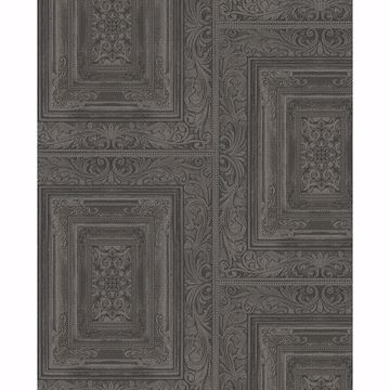 Picture of Olsson Charcoal Wood Panel Wallpaper