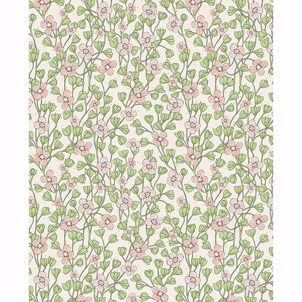 Picture of Maja Light Pink Miniature Floral Wallpaper