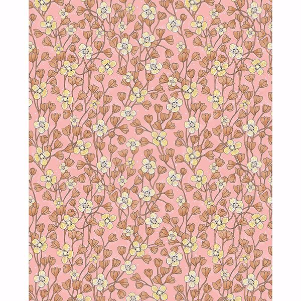 Picture of Maja Pink Miniature Floral Wallpaper