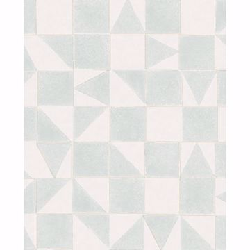 Picture of Robyn Grey Geometric Wallpaper