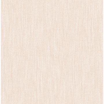 Picture of Chenille Blush Faux Linen Wallpaper