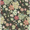 Picture of Gwyneth Dark Green Floral Wallpaper