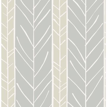 Picture of Lottie Grey Stripe Wallpaper