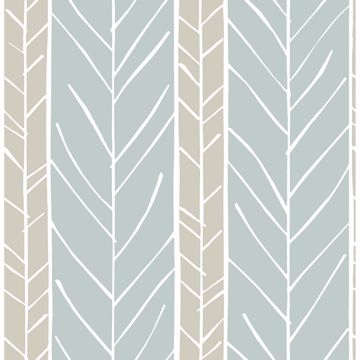 Picture of Lottie Slate Stripe Wallpaper
