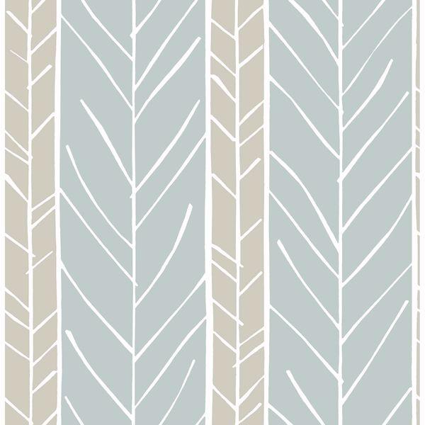Picture of Lottie Slate Stripe Wallpaper