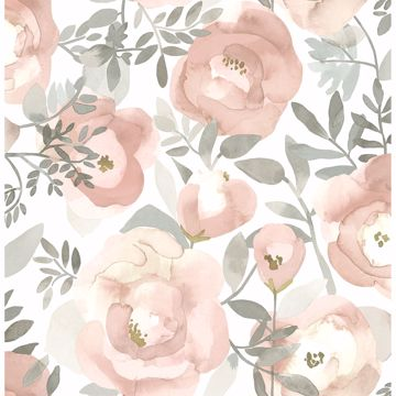 Picture of Orla Rose Floral Wallpaper
