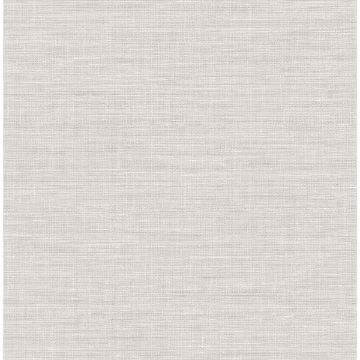 Picture of Exhale Light Grey Faux Grasscloth Wallpaper
