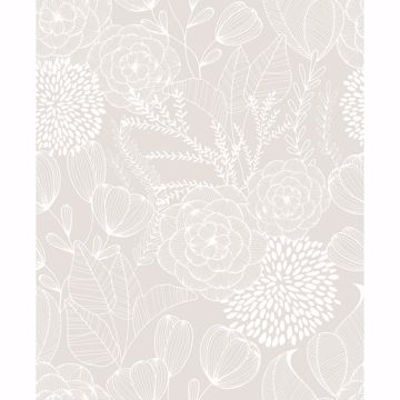Picture of Alannah Bone Botanical Wallpaper