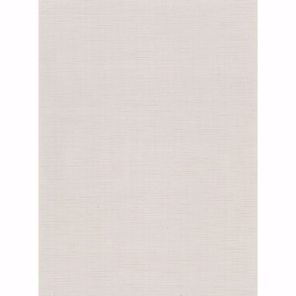 Picture of Chorus Eggshell Faux Grasscloth Wallpaper