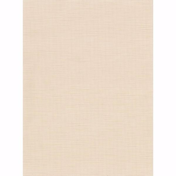 Picture of Chorus Beige Faux Grasscloth Wallpaper