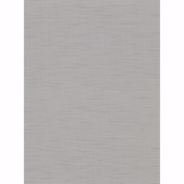 Picture of Chorus Pewter Faux Grasscloth Wallpaper