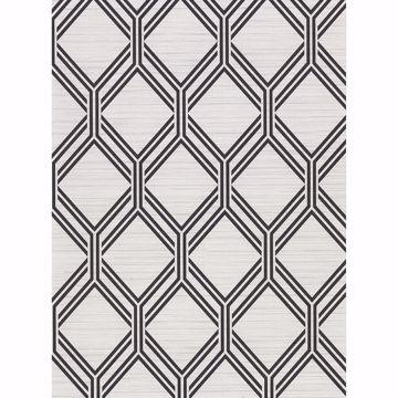Picture of Vaughan Grey Geometric Wallpaper