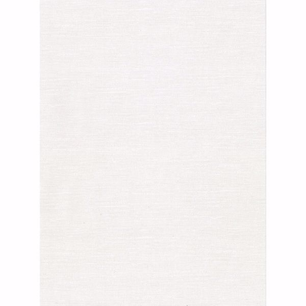 Picture of Parker Off-White Faux Linen Wallpaper