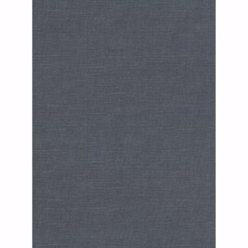 Picture of Parker Denim Faux Linen Wallpaper