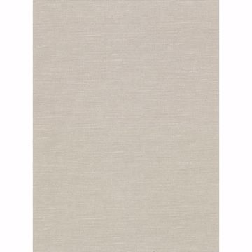 Picture of Parker Beige Faux Linen Wallpaper