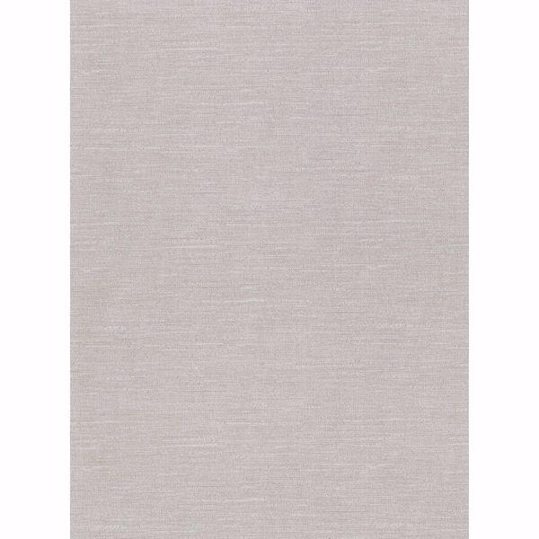 Picture of Parker Grey Faux Linen Wallpaper