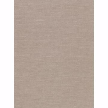 Picture of Parker Light Brown Faux Linen Wallpaper
