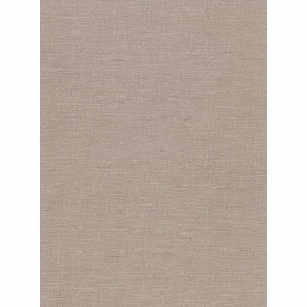 Picture of Parker Light Brown Faux Linen Wallpaper