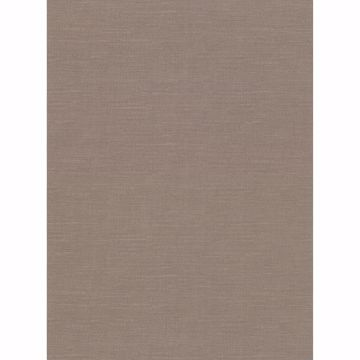 Picture of Parker Brown Faux Linen Wallpaper
