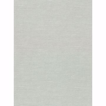 Picture of Parker Mint Faux Linen Wallpaper