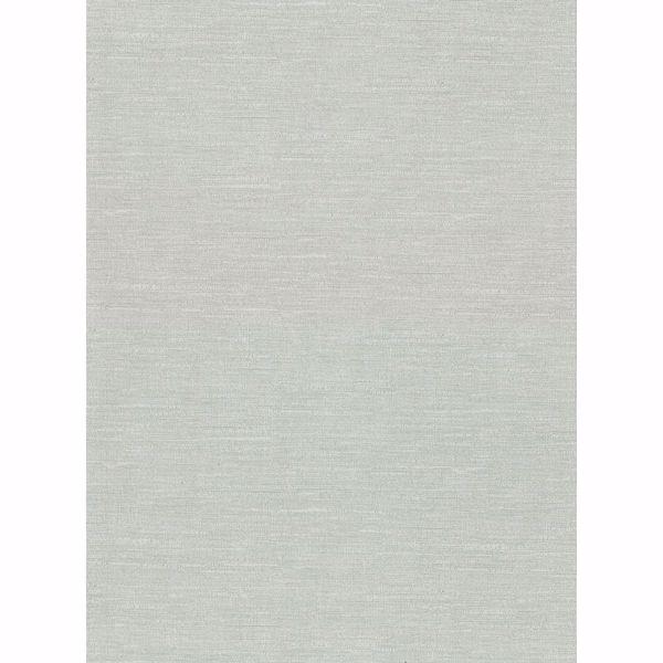 Picture of Parker Mint Faux Linen Wallpaper